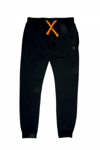 JOGGERS HEAVY LINED FOX BLACK / ORANGE