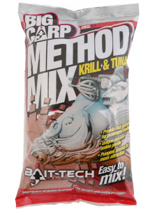BAIT-TECH BIG CARP METHOD MIX KRILL - 2KG