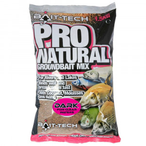 BAIT-TECH PRO NATURAL DARK - 1.5KG