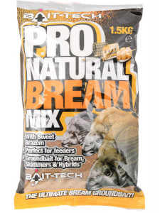 BAIT-TECH PRO NATURAL BREAM MIX - 1.5KG