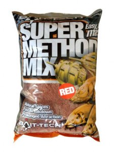 BAIT-TECH SUPER METHOD MIX RED - 2KG