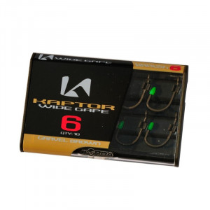 KORDA Kaptor Wide Gape Gravel Brown