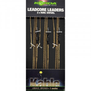 KORDA Leadcore Leader Ring Swivel
