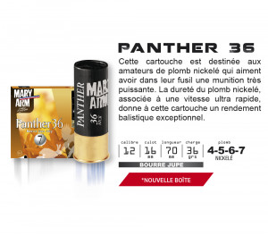 MARY ARM PANTHER 36 - PAR 25