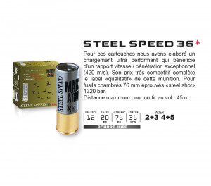 MARY ARM STEEL SPEED 36 - PAR 25