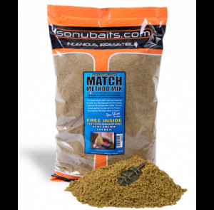 SONUBAITS MATCH METHOD MIX - 2KG