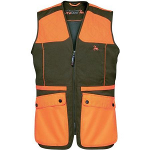 VERNEY-CARRON GROUSE - GILLET HOMME - KAKI/ORANGE
