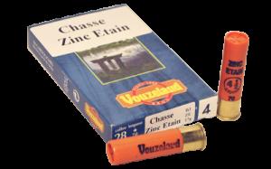 VOUZELAUD CALIBRE 28 ZINC ETAIN - PAR 10