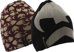 WESTIN BONNET REVERSIBLE - NOIR/ROUGE