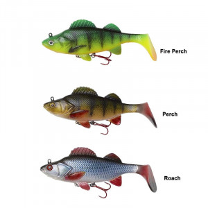 Leurre Effzett Natural Perch Paddle Tail 14cm 47g