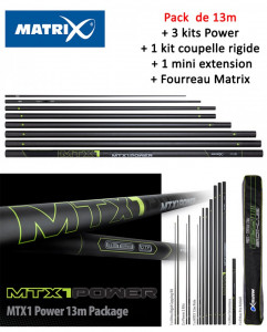 PACK CANNE MATRIX MTX1 POWER 13M