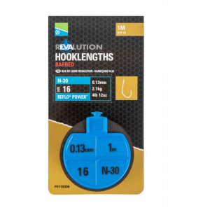 BAS DE LIGNE MONTES N30 REVALUTION HOOKLENGTHS PRESTON INNOVATIONS