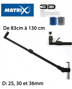 BRAS FEEDER MATRIX 3D-R FEEDER ARM LONG